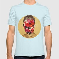 That Face Mens Fitted Tee Light Blue SMALL