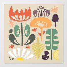 Scandinavian Wildflowers Canvas Print