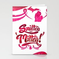 Smitten with the Mitten Stationery Cards