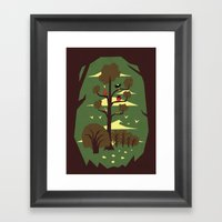 R Is For Rabbit Framed Art Print