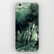 mürekkeple orman iPhone & iPod Skin