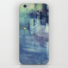 And yet the most ordinary silence reigns in these narrow places iPhone & iPod Skin