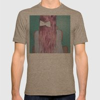 Nebula Girl Mens Fitted Tee Tri-Coffee SMALL