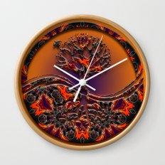 Tree Of Designs Wall Clock