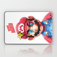 Beat Up Mario Laptop & iPad Skin