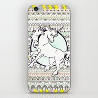 Unicorn Party iPhone & iPod Skin