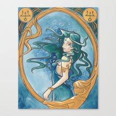Princess Neptune Canvas Print