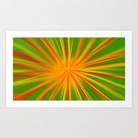 Color Explosion Art Print