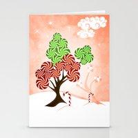 Magic Candy Tree - V1 Stationery Cards