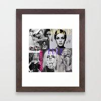 OH LÀLÀ! Framed Art Print