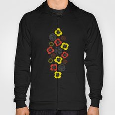 Blooming Wild (red & yellow) Hoody