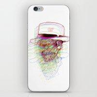 Happy Hat iPhone & iPod Skin