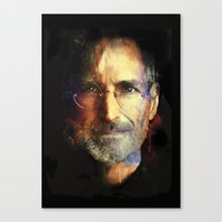 Steve Jobs Canvas Print