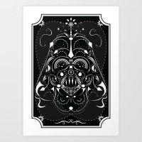 Darth Vader On Acid Art Print