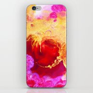 Abstract Painting Red Go… iPhone & iPod Skin