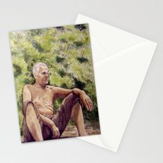Papa, miss you! Stationery Cards