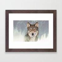 The Watchman Framed Art Print