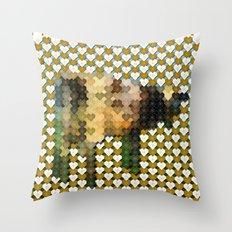 Atom Heart Mother Throw Pillow