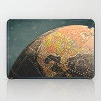 Where I Am (Vintage Glob… iPad Case