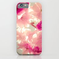 iPhone & iPod Case featuring Somewhere behind the pink veil... by monography
