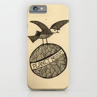 iPhone & iPod Case featuring planet music by Mariana Beldi