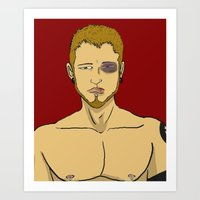 You Should See the Other Guy Art Print