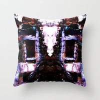 The Seated Woman Throw Pillow