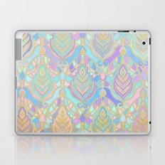 Jade & Blue Enamel Art Deco Pattern Laptop & iPad Skin