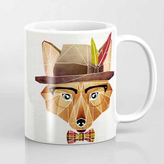 mr. fox Mug
