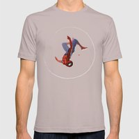 Web Head Mens Fitted Tee Cinder SMALL