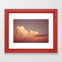 Skies 03 Framed Art Print