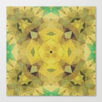 Moss Piñata Canvas Print