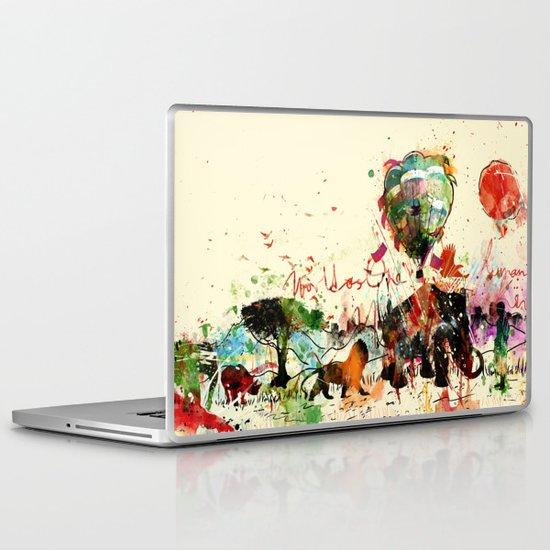 World as One : Human Kind Laptop & iPad Skin