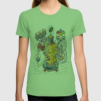 Rasti / Industria Argent… Womens Fitted Tee Grass SMALL