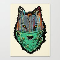 Wolf Mother - Screen Pri… Canvas Print