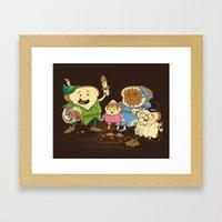Yep, just a little bit of fairy peanut butter Framed Art Print