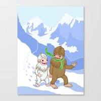 Snow Day! Canvas Print