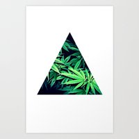 Smoke Weed Art Print