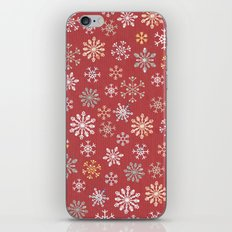 christmas snow iPhone & iPod Skin