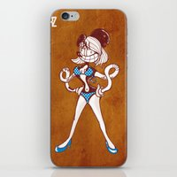 LOCA CRAZY bikini contest 2 iPhone & iPod Skin
