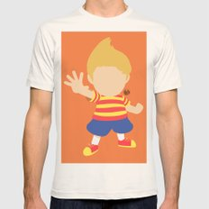 Lucas(Smash) Mens Fitted Tee Natural SMALL