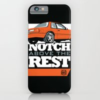 iPhone Cases featuring Notch Above the Rest by Leave Your Mark