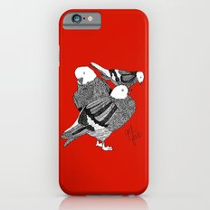 Red Pigeons Get Fat iPhone 6 Slim Case