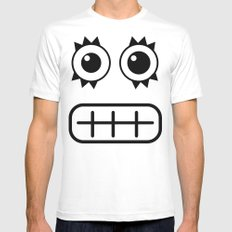 :::dientes::: White Mens Fitted Tee SMALL