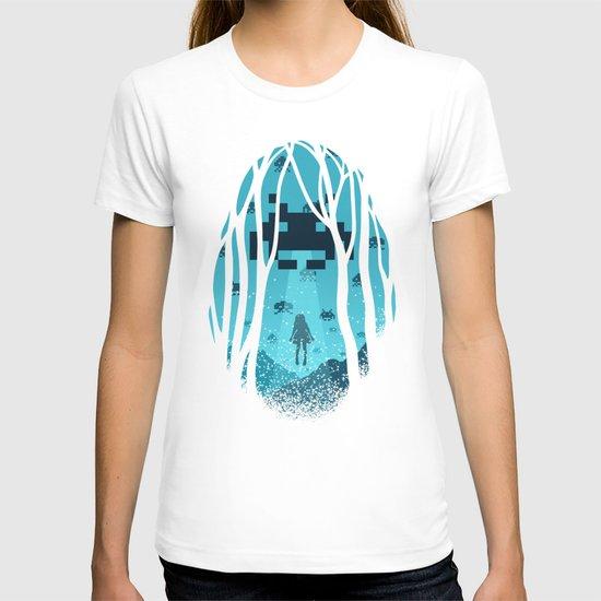 8 Bit Invasion T-shirt