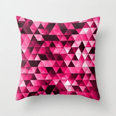 Stainded Throw Pillow
