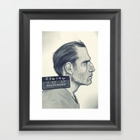 The Nose Framed Art Print