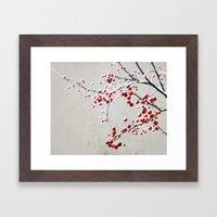 Red Magic Framed Art Print
