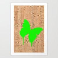 Neonbug Art Print