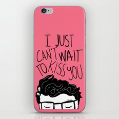 I just can't wait to kiss you ♥ iPhone & iPod Skin